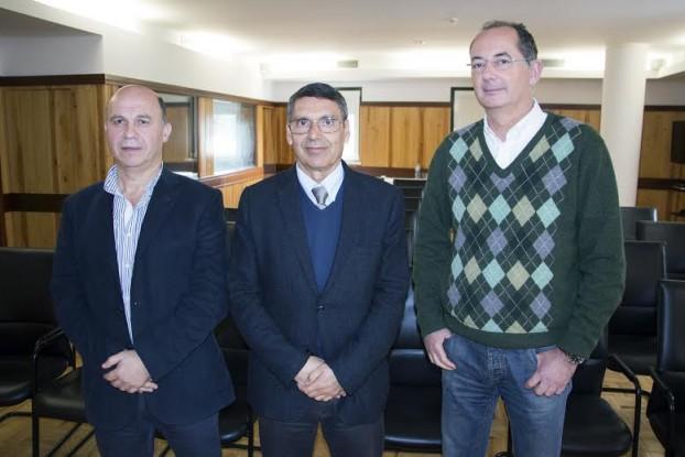 Carlos Oliveira, António Morais e Arménio Cruz