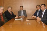 João António Vicente (presidente da CPPME)  Jorge Pisco (vice presidente da CPPME); Paulo Beça (Diretor de Marketing Estratégico do Crédito Agrícola); José Maia Alexandre, (Administrador do Crédito Agrícola); Licínio Pina (Presidente do Crédito Agrícola).