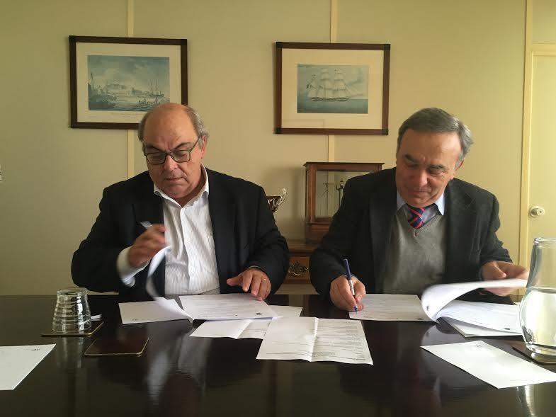Foto: Rui Marqueiro, presidente da Câmara Municipal da Mealhada, e Fernando Manuel Bernardo, diretor-geral da Direção-Geral de Alimentação e Veterinária
