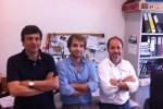 Vítor Silva, João Andrade e Gabriel Falcão
