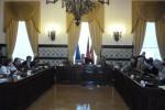 Imagem captada quando fomos convidados a sair da reunião da Câmara Municipal de Coimbra