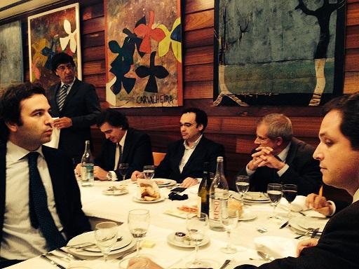 António Raposo Subtil Paulo Almeida, Carlos Guimarães e Paulo Valério
