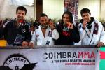 Os atletas de Coimbra (Francisco Rodrigues (prata) | Celio Costa (ouro) | Carlos Nonato (Ouro) | Diogo Axel (Prata)