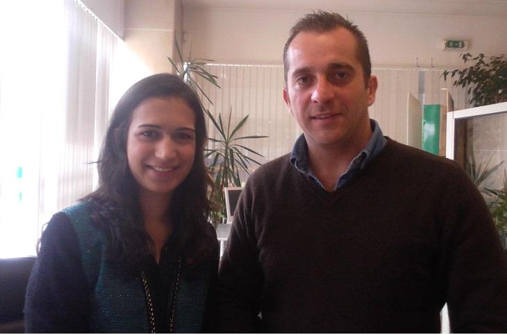 Ana Rita Macário e Vitor Nuno Anjos fundadores da Associação Portuguesa Conversas de Psicologia