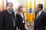 António Marinho, Elina Pinto e Manuel Machado (arquivo NDC)