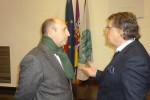 José Manuel Portugal recebeu Alberto da Ponte na Universidade de Coimbra em meados deste mês
