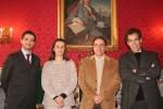 João Diogo Ramos (CEO da Critical Health), Isabel Narra Figueiredo (investigadora da UC), Amílcar Falcão (Vice-Reitor da UC) e Gonçalo Quadros (Administrador da Critical Health).