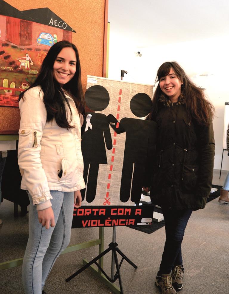 Cármen Figueira e Jéssica Sousa