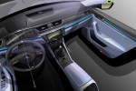 150203 SKODA Superb Interior Design Sketch