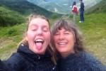 Sophie Arnaut  mãe de acolhimento da islandesa Viktoria Birgisdottir