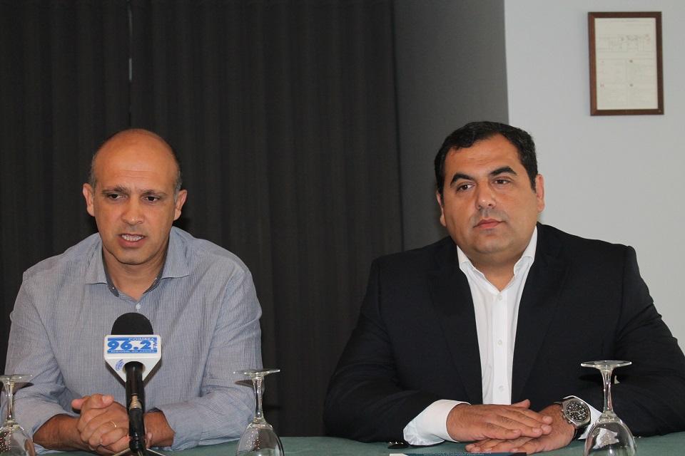 Carlos Canais e Nuno Moita