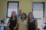 Renata Tavares, João Ramalho-Santos, Paula Mota e Sandra Amaral.