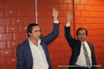José Edaurdo Simões e Salvador Arnaut na AG, em que, apesar da contestação,conseguiram aprovar tudo o queriam.