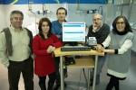 Os investigadores da ESEnfC José Carlos Martins, Verónica Coutinho, Rui Baptista, Luís Oliveira e Isabel Fernandes