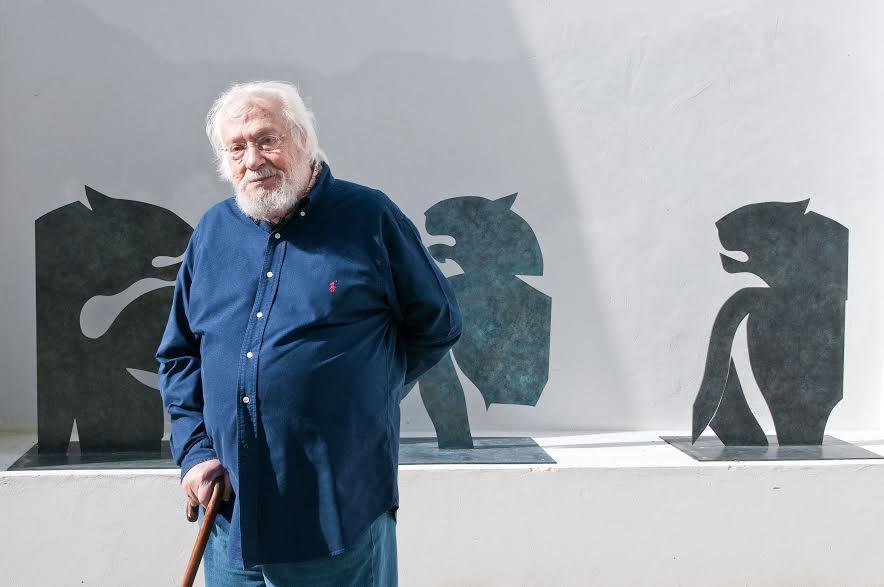 Atelier-Museu Júlio Pomar, Lisboa Fevereiro 2013. © Luisa Ferreira