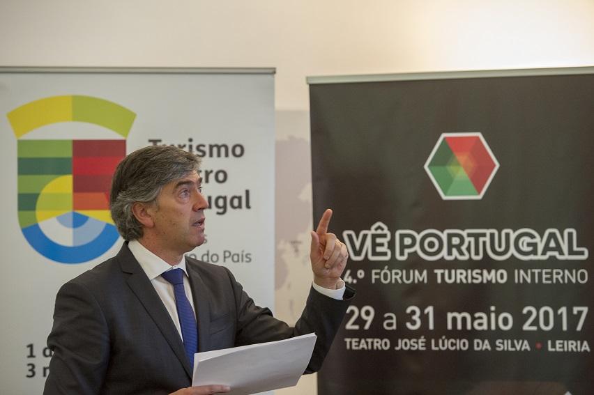 Conferência imprensa apresentação Vê Portugal 2017, promovido pelo Turismo Centro de Portugal, que decorreu em Leiria. (Rui Miguel Pedrosa / Slideshow)