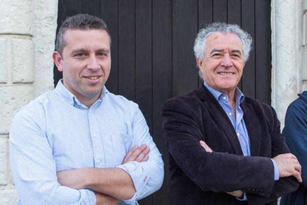 Na foto: António Baía, Jaime Ramos e Manuel Peixoto