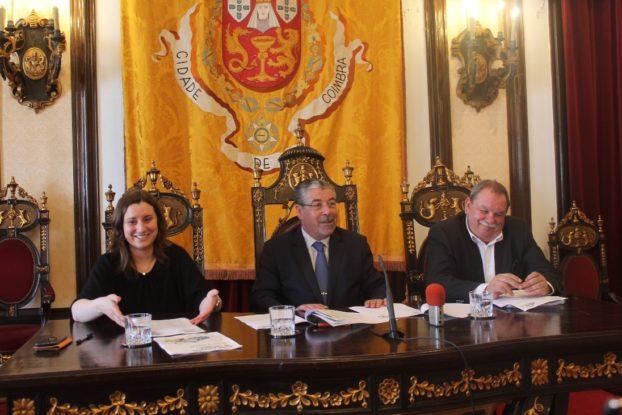 O evento foi apresentado hoje, 25 de maio, na Câmara Municipal de Coimbra por Manuel Machado - Presidente da Câmara Municipal de Coimbra e Carina Gomes e Jorge Alves - Vereadores da autarquia local.