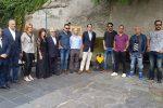 Autarcas, empresários e elementos dos Amor Electro (sem Mariza Liz) participaram na apresentação da Feira Anual de São João