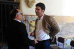 Vitor  Sá Marques com Francisco Paz, director do departamento de cultura e desporto da autarquia de Coimbra