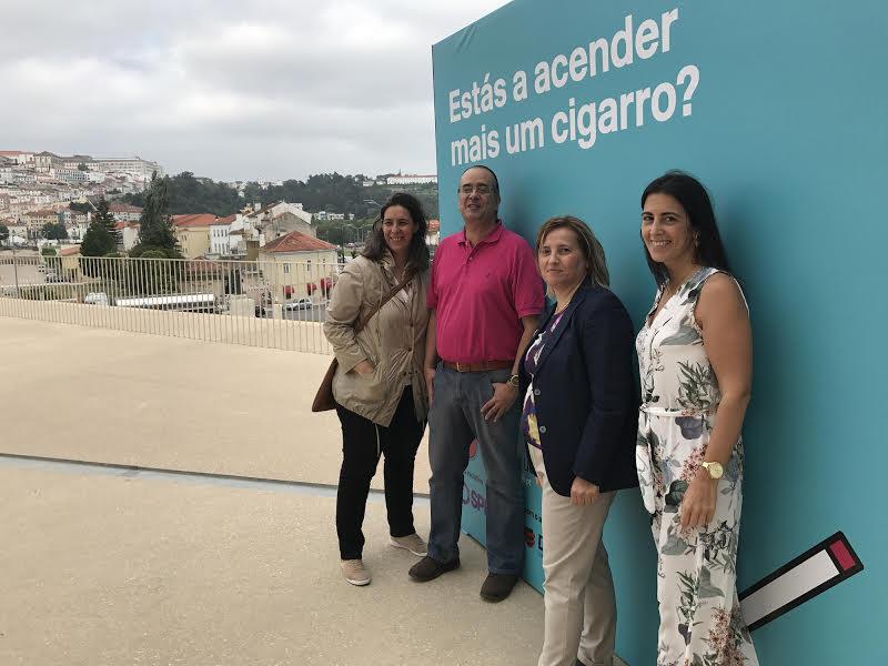 Mariana Moura Ramos, João Ramalho Santos, Teresa Almeida Santos e Daniela Couto