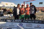 Águia/Salvador foi a grande vencedora da Hugo Almeida Footvolley Cup