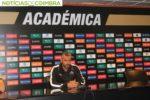 Ivo Vieira,  treinador da Académica