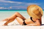 mulher praia