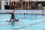 natação sincronizada