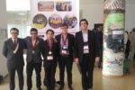 :Da esquerda para a direita: Manuel Brandão (medalha de bronze), Raul Monteiro (medalha de prata), Duarte Nascimento (medalha de ouro), José Jesus (medalha de prata), Rui Travasso (team leader).