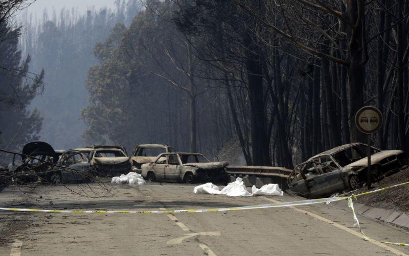 Comissão entregou relatório sobre fogo de Pedrógão Grande na Assembleia da República