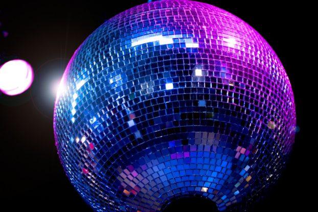 Disco / Mirror ball in club