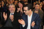 O Mandatário Manuel Machado e o candidato Luís Antunes