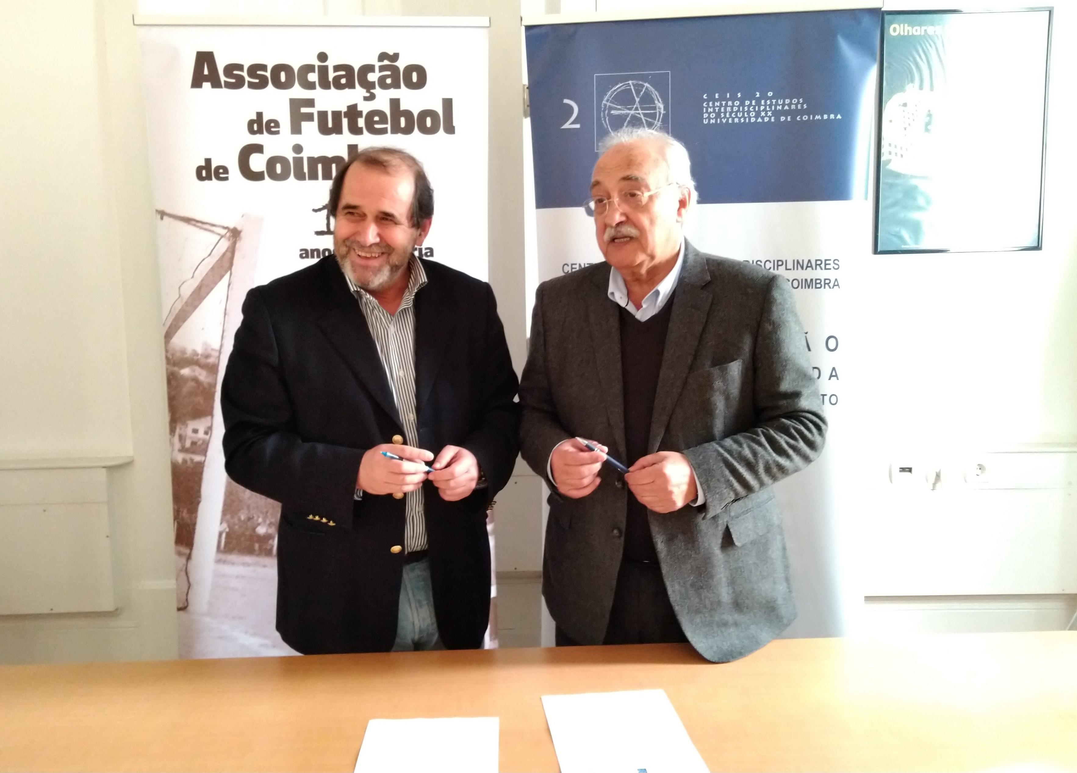 Resultado de imagem para AF Coimbra e CEIS 20 assinam protocolo de cooperação